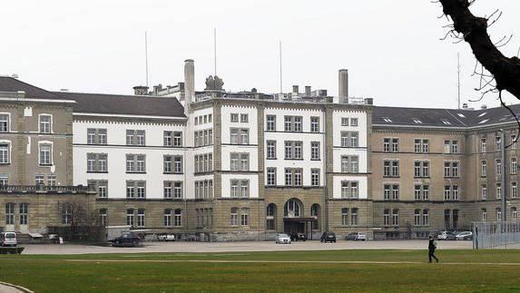 Heute ist die Kantonspolizei noch auf dem Kasernenareal untergebracht.
