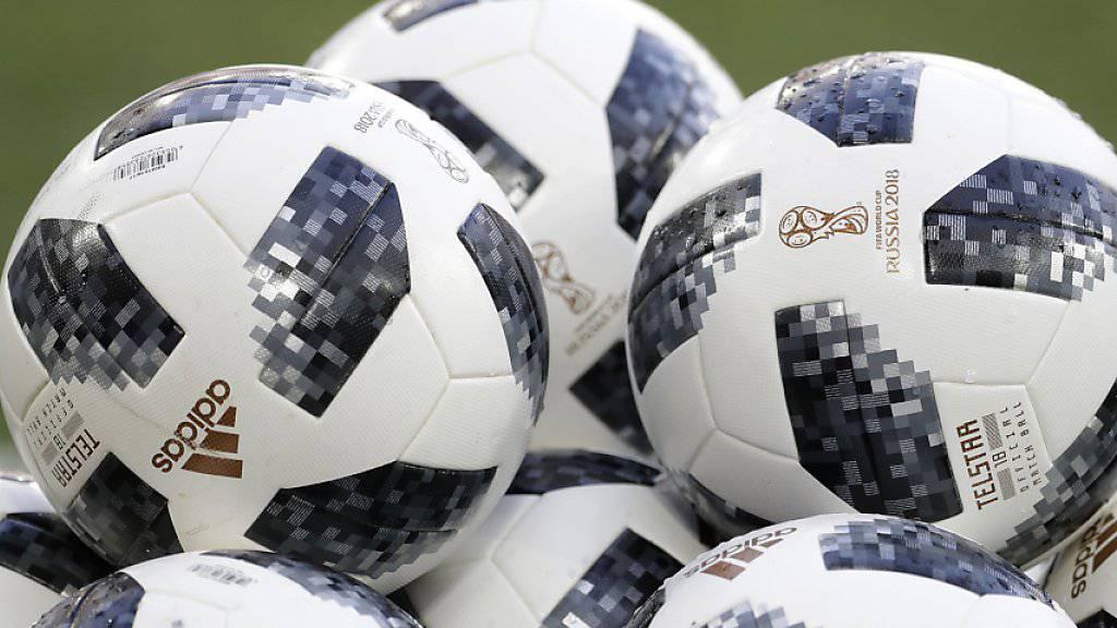 2x30: So viele offizielle WM-Bälle erhalten die 32 WM-Teilnehmer für ihre Trainings und die WM-Vorbereitung
