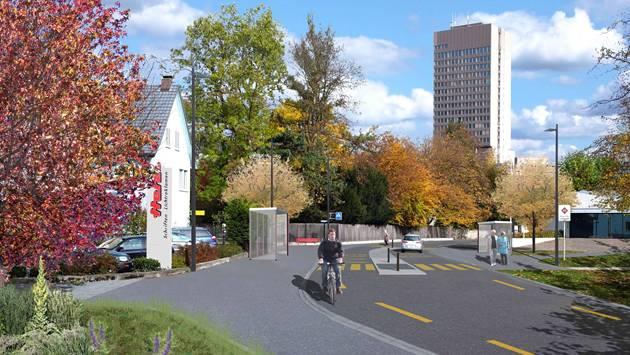 Ein altes Anliegen: Die Tellistrasse soll zur Quartiersammelstrasse werden.