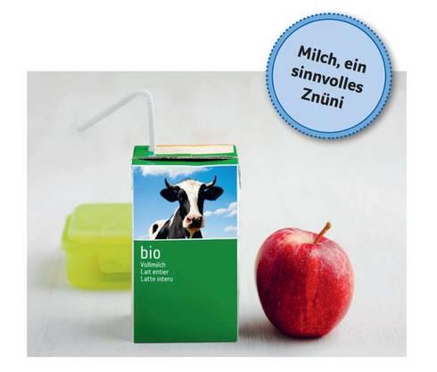 Swissmilk sponsert eine Verteilaktion an rund 3000 Schweizer Schulen.