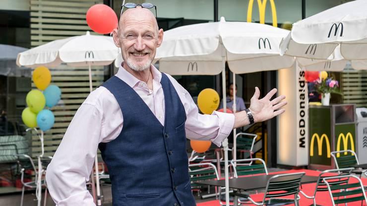 Vom Spitzensportler zum Restaurantchef: Flemming Jensen freut sich über die gelungene Feuertaufe.