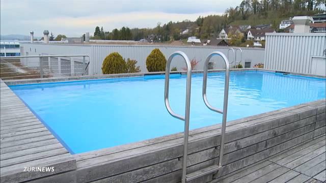 Eigener Swimmingpool für Mitarbeiter