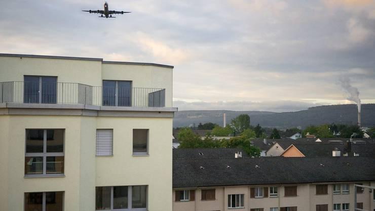 Fluglärmgeplagte in Glattbrugg
