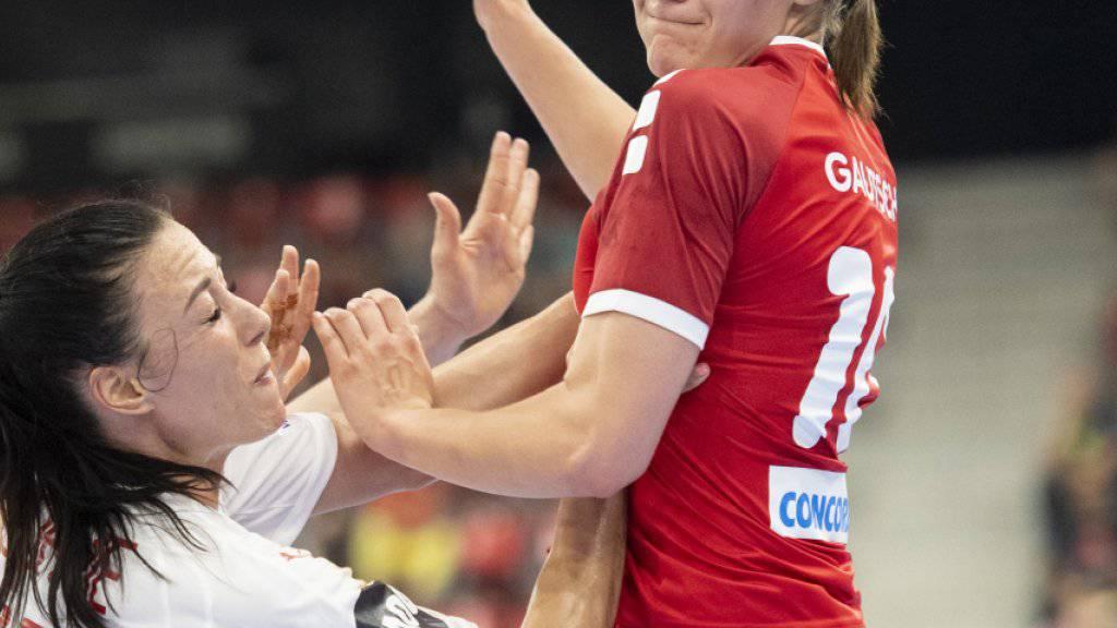 WM-Barrage: Schweizerinnen unterliegen Dänemark auch im Rückspiel