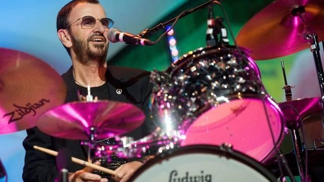 Ex-Beatle Ringo Starr bei einem Auftritt in Budapest (Archiv)