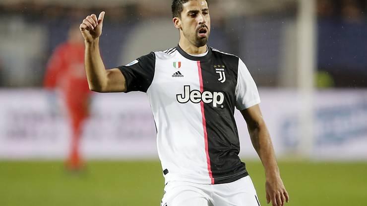 Sami Khedira muss sich einer Knieoperation unterziehen