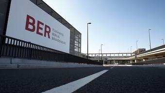 Aussenansicht des noch nicht eröffneten BER-Flughafens (Archiv)