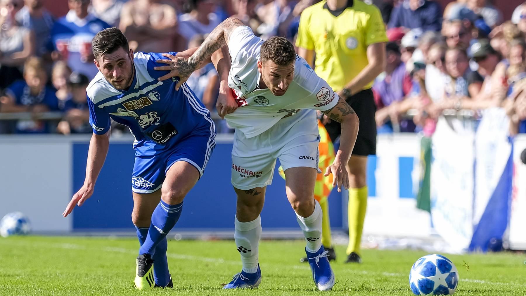 Cup: Der FCL gewinnt gegen FC Wohlen