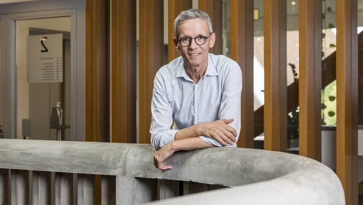 Markus Bircher, 59, ist seit 2018 Gemeindeammann.