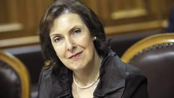 Christine Egerszegi: IV ist kein Ersatz für die Sozialhilfe.  Peter Mosimann