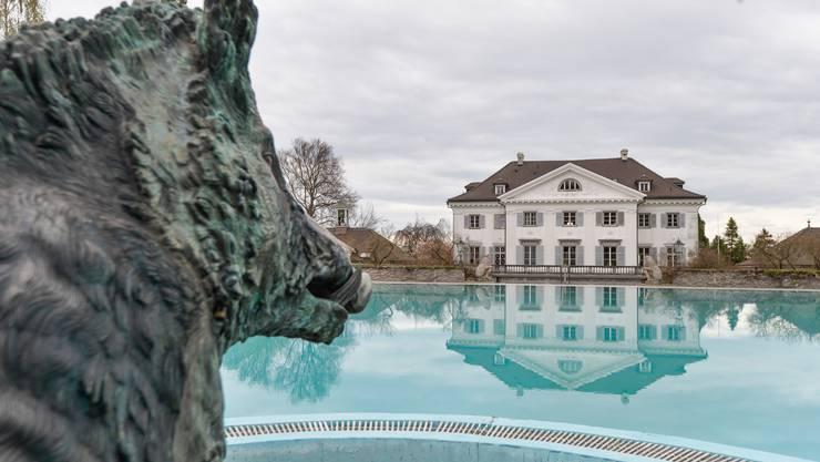 Der Verkauf von Luxusvillen geht zurück. Im Bild: Schloss Eugensberg im Thurgau.