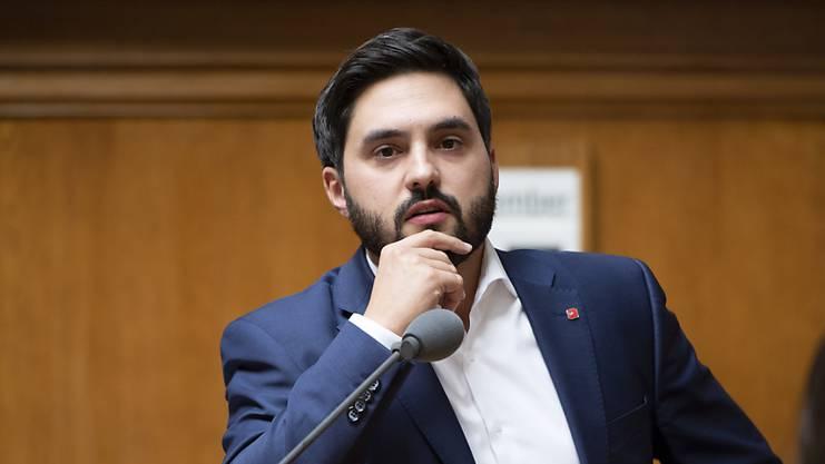 SP-Kandidat Cédric Wermuth orientiert sich an der Transparenzinitiative.