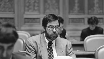 Vollblutpolitiker mit Ecken und Kanten: Der Berner SP-Nationalrat Alexander Tschäppät in einer undatierten Aufnahme aus den 1990er-Jahren.