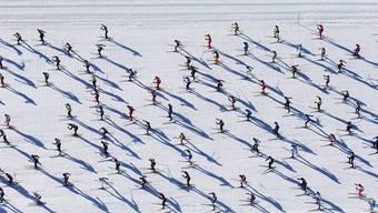 Die besten Bilder vom Engadin-Skimarathon 2014