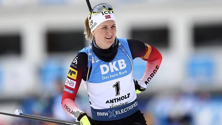 Die grosse Figur der Biathlon-WM in Antholz: Marte Olsbu Röiseland gewann in sieben Rennen fünfmal Gold und zweimal Bronze