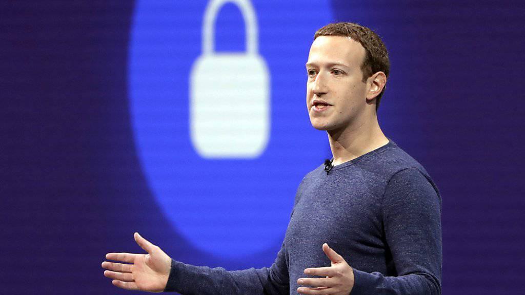 Facebook-CEO Mark Zuckerberg. (Archivbild)