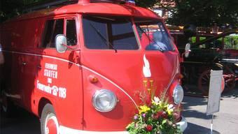 Der 50 Jahre alte VW-Bus war das erste Fahrzeug der Ortsfeuerwehr Staufen