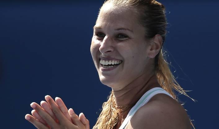 Die Slowakin steht zum ersten Mal in einem Grand-Slam-Final