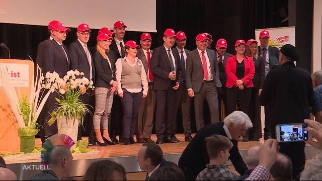16 Kandidaten für Nationalratswahlen gewählt