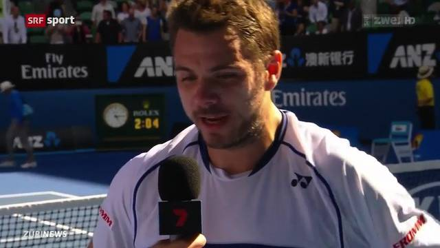 Stan Wawrinka am Australian Open