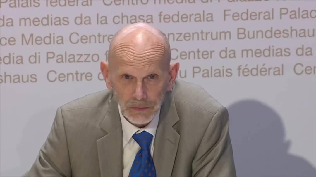 """BAG-Koch: """"Lage stabilisiert sich, aber das Problem ist bei weitem nicht gelöst"""" (7.4.2020)"""
