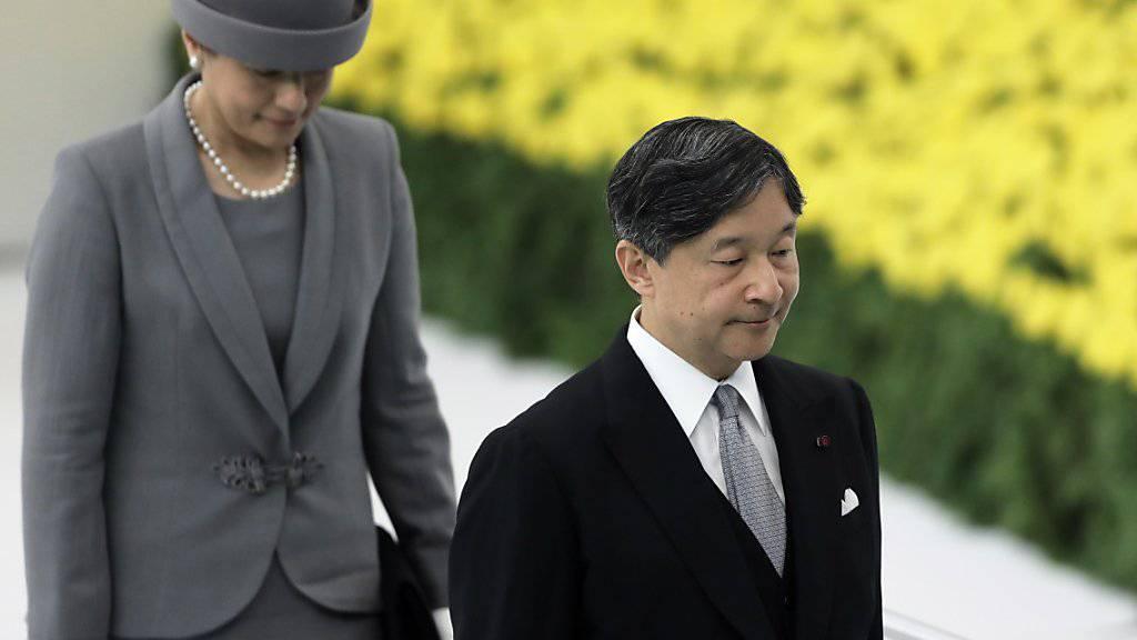 Japans Kaiser äussert «tiefe Reue» über 2. Weltkrieg
