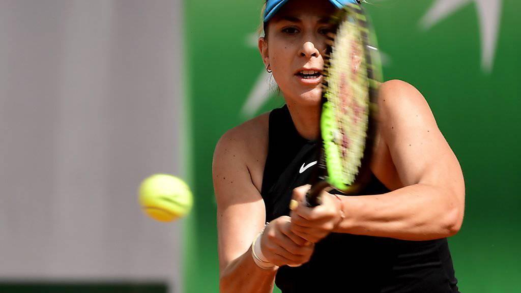 Belinda Bencic glückt der Auftakt ins Turnier in 's-Hertogenbosch
