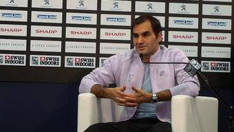 Roger Federer über den Heimvorteil an den Swiss Indoors.