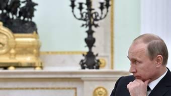 Unerwünschte: Präsident Putin unterzeichnet neues Gesetz