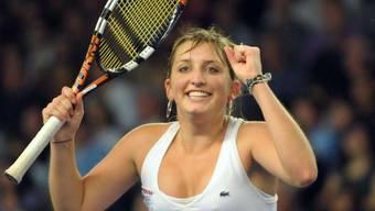 Timea Bacsinszky trifft am Sonntag in der 3. Runde auf Kiki Bertens, die Bezwingerin von Belinda Bencic