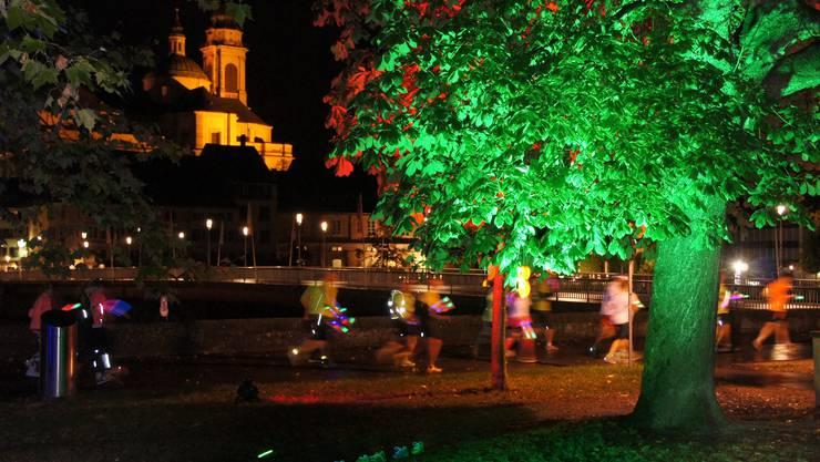 Der Saucony Light Run findet am 10. September statt.