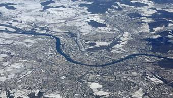 So sieht Basel mit Schnee aus, für den Fall, dass Sie es schon vergessen haben.
