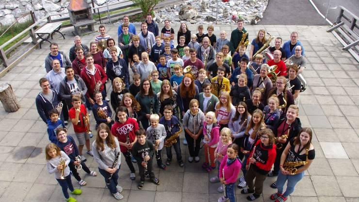 Die Musikschüler verbringen eine Woche gemeinsam im Lager in Zweisimmen.