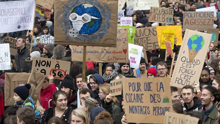 Beide Parteien könnten bei den Wahlen 2019 am stärksten von den Klimastreiks der Jugend profitieren.