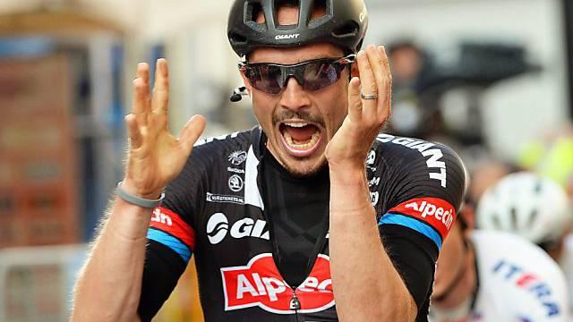 Sieg im Klassiker Paris - Roubaix: John Degenkolb