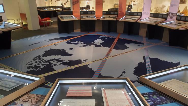 Wurde erst im Jahr 2013 erneuert: das Museum Wertpapierwelt in Olten.