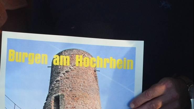 Die Burgenlandschaft beidseitig des Rheins soll eine regionalgeschichtlich-wissenschaftliche Würdigung erfahren.