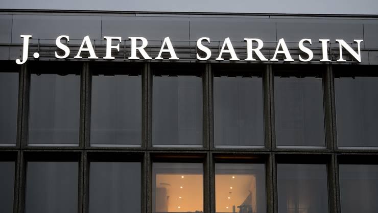 Bank Sarasin.
