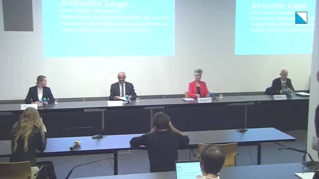 Komplette Pressekonferenz: Bundesrat Alain Berset zu Besuch in Zürich