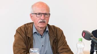 PK zu den Vorfällen rund ums Asylheim in Reinach. Urs Hintermann