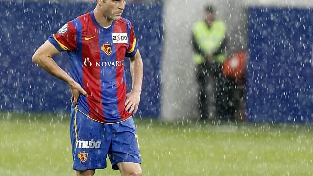 Alex Frei stand für einmal im Regen