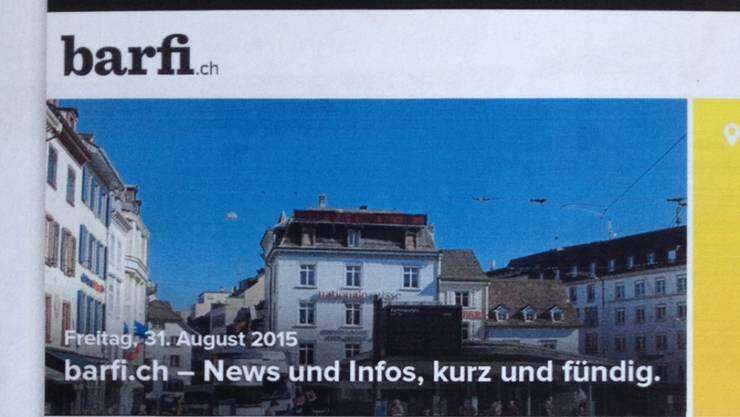 "Radio-Basilisk-Gründer Christian Heeb steht hinter ""barfi.ch"""