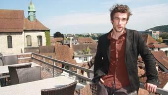 Aaron Hitz fühlt sich in Solothurn schon fast wieder wie zu Hause.