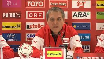 Für das Fussball-Länderspiel zwischen Österreich und der Schweiz am Dienstagabend in Wien gehen die Sicherheitsverantwortlichen nicht von einer Terror-Bedrohung aus. Dennoch werden die Sicherheitsvorkehrungen verschärft.