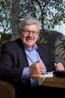 Roland Brogli freut sich in seinem Landammann-Jahr auf viele Begegnungen und das Eidgenössische Jodlerfest in Davos.