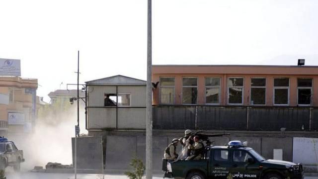 Polizeiautos in Kabul (Archiv)