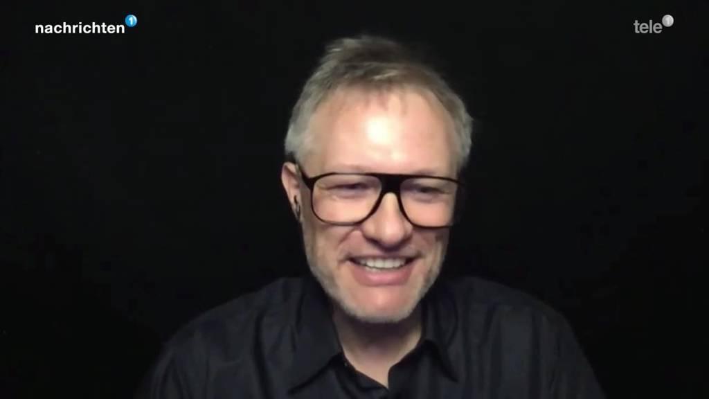 Studienleiter Stephan Huber im Gespräch