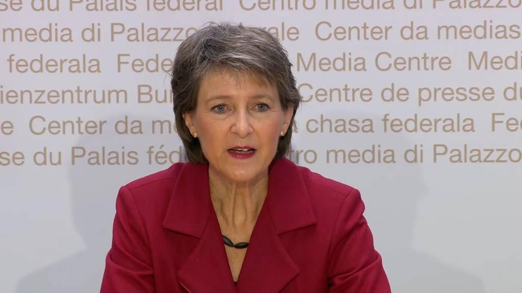 Komplette Pressekonferenz des Bundesrates vom 15. Oktober 2020