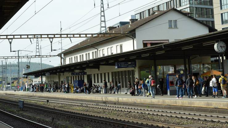 Zugausfälle wegen Vorfall in Liestal. (Themenbild)