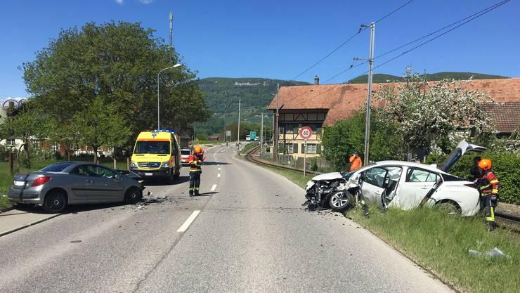 Am Montagmittag kam es in Niederbipp zu einem Verkehrsunfall, wobei zwei Autos kollidierten.